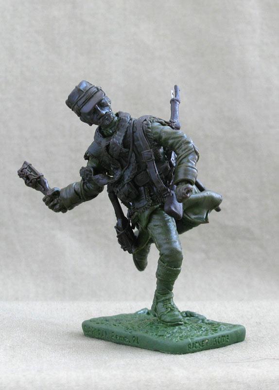 Скульптура: Капрал 8го пехотного полка, 1914-15, фото #2