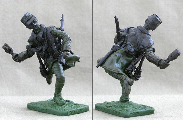 Скульптура: Капрал 8го пехотного полка, 1914-15