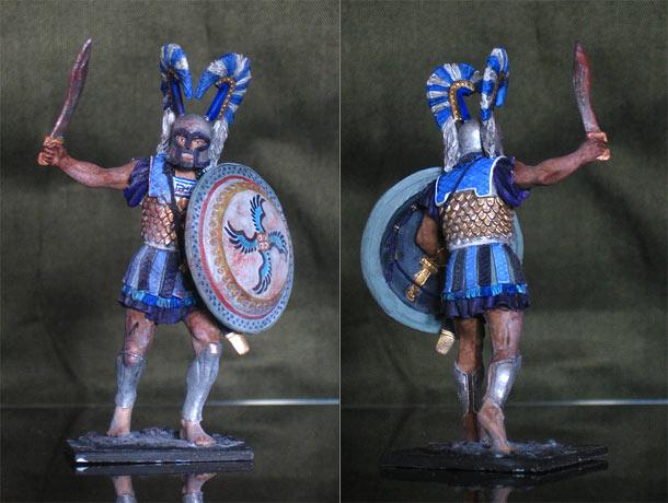 Учебка: Греческий гоплит, 480 год до н.э.