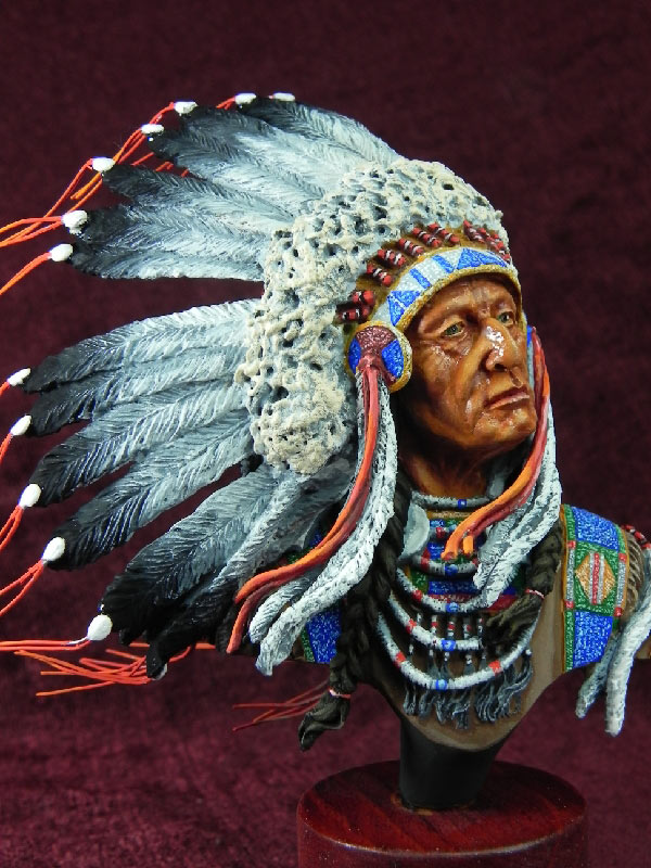 Фигурки: Индейский вождь, фото #2