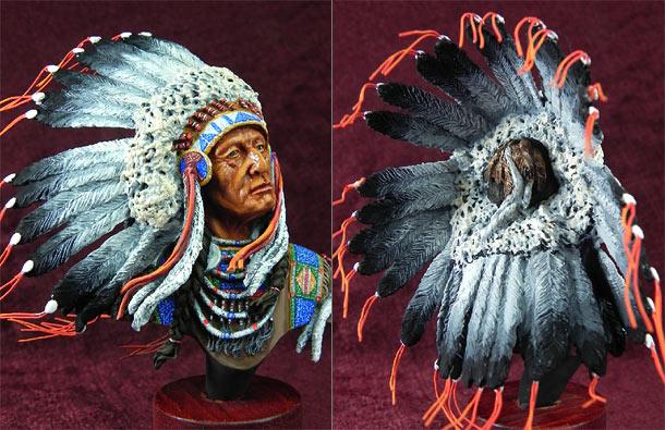 Фигурки: Индейский вождь