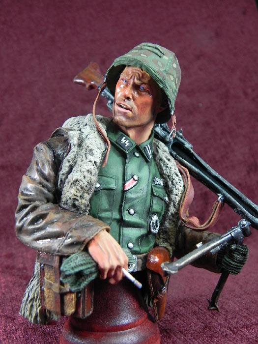 Фигурки: Немецкий пулеметчик, фото #1