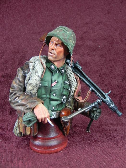 Фигурки: Немецкий пулеметчик, фото #2