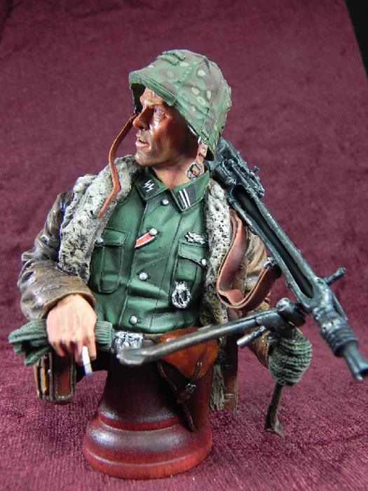 Фигурки: Немецкий пулеметчик, фото #3