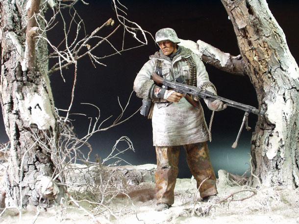 Диорамы и виньетки: Солдат Вермахта