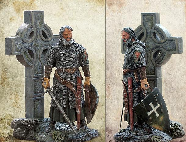 Фигурки: Ирландский рыцарь, XIV в.