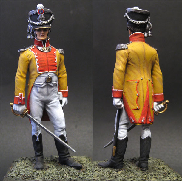 Фигурки:  Офицер Невшательского батальона, 1809г.