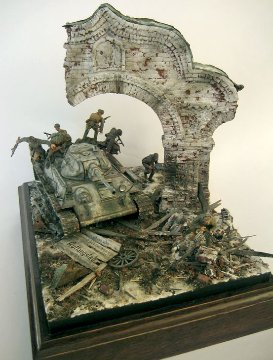 Диорамы и виньетки: Триумфальная арка, фото #1
