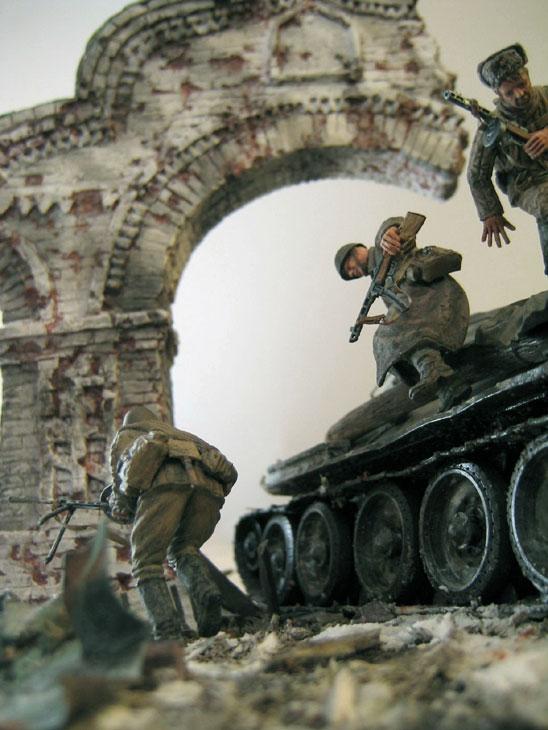 Диорамы и виньетки: Триумфальная арка, фото #6