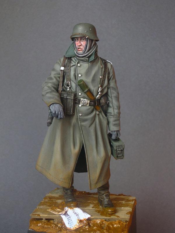 Фигурки: Пулеметчик войск СС, фото #1