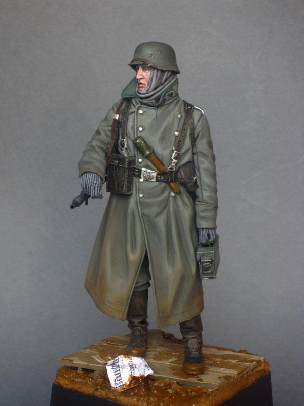 Фигурки: Пулеметчик войск СС, фото #2