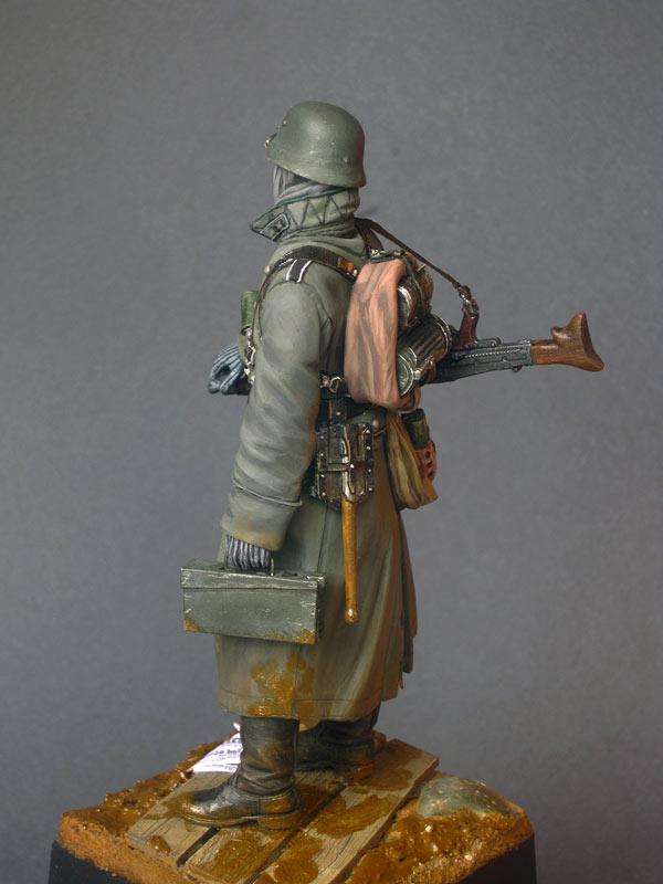 Фигурки: Пулеметчик войск СС, фото #3