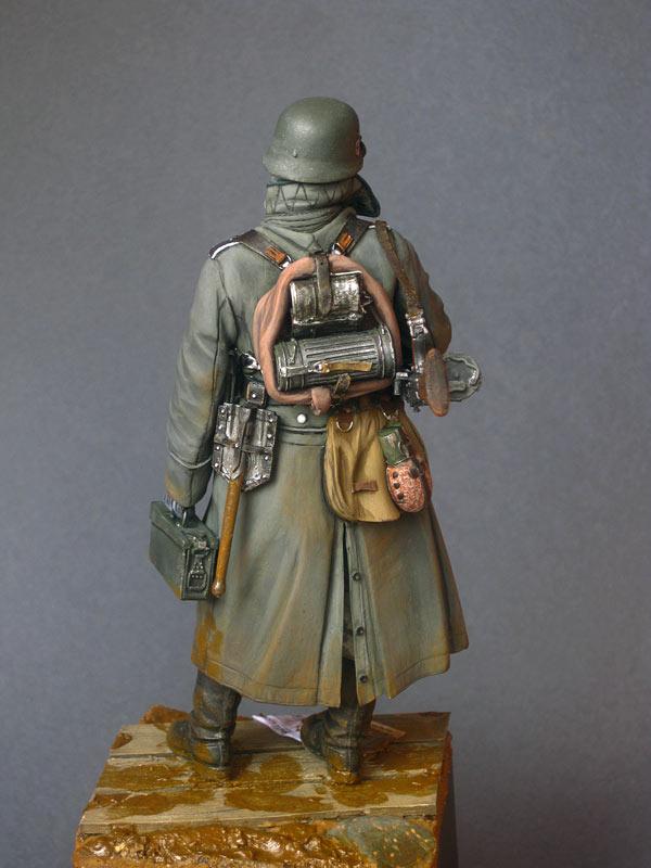 Фигурки: Пулеметчик войск СС, фото #4
