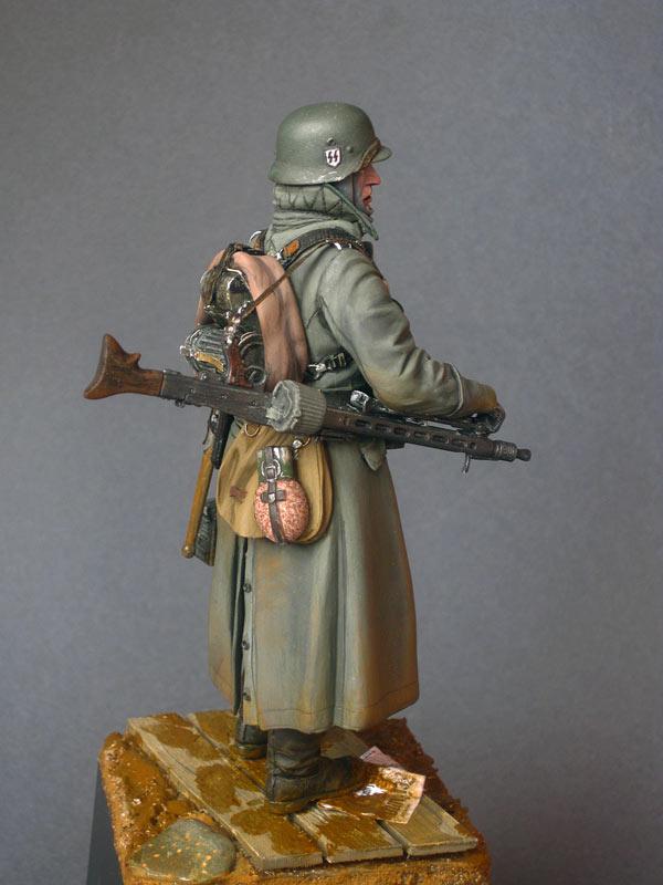 Фигурки: Пулеметчик войск СС, фото #5