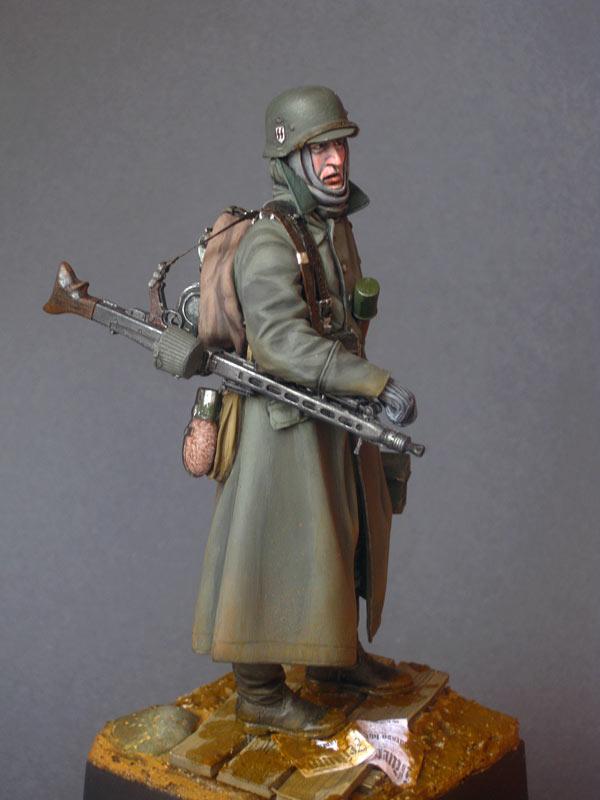 Фигурки: Пулеметчик войск СС, фото #6