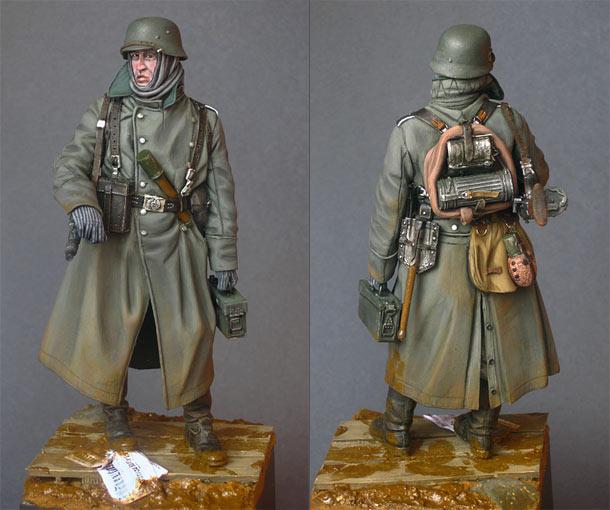 Фигурки: Пулеметчик войск СС