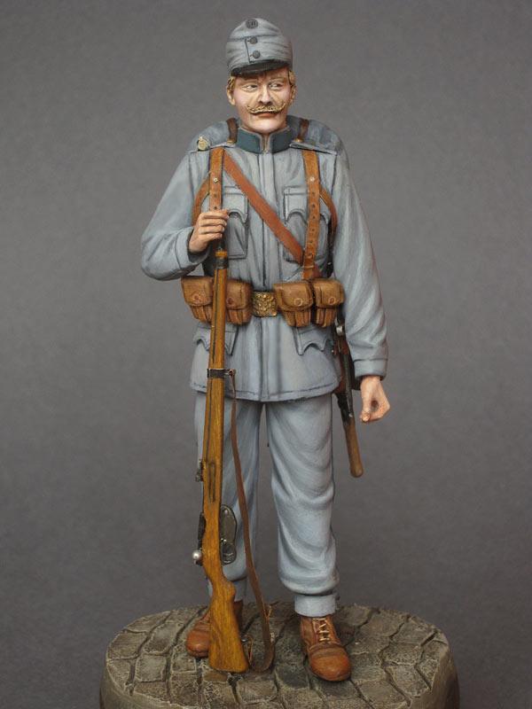 Фигурки: Пехотинец Австро-Венгрии, 1914, фото #1