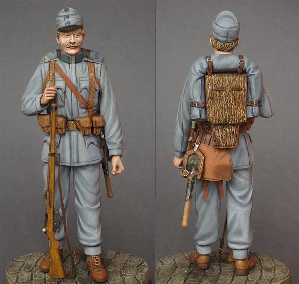 Фигурки: Пехотинец Австро-Венгрии, 1914