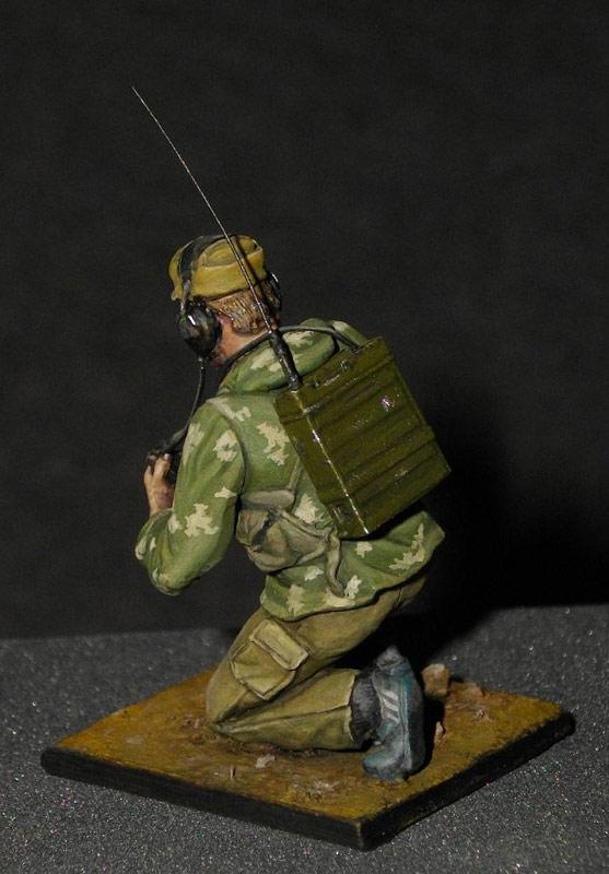 Фигурки: Советский радист, афганская война., фото #3