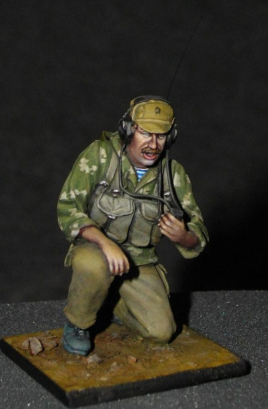 Фигурки: Советский радист, афганская война., фото #4