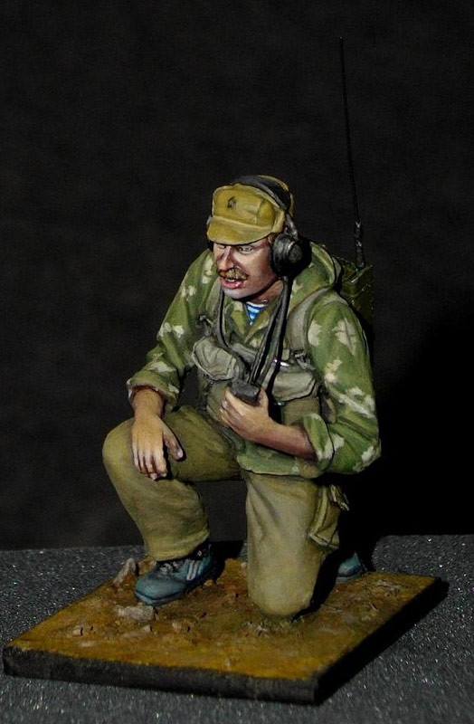 Фигурки: Советский радист, афганская война., фото #5