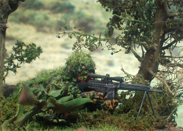 Диорамы и виньетки: Снайпер 2