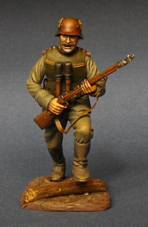Фигурки: Немецкий штурмовик, 1МВ, фото #1