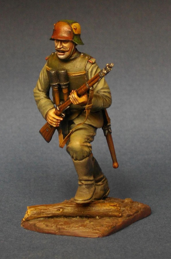 Фигурки: Немецкий штурмовик, 1МВ, фото #2