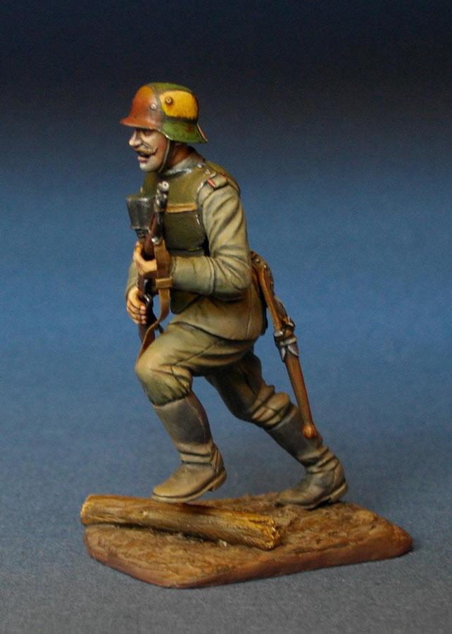 Фигурки: Немецкий штурмовик, 1МВ, фото #3