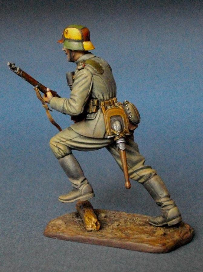 Фигурки: Немецкий штурмовик, 1МВ, фото #4