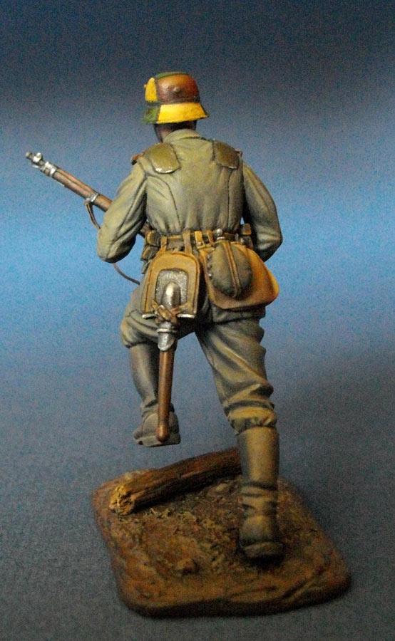 Фигурки: Немецкий штурмовик, 1МВ, фото #6