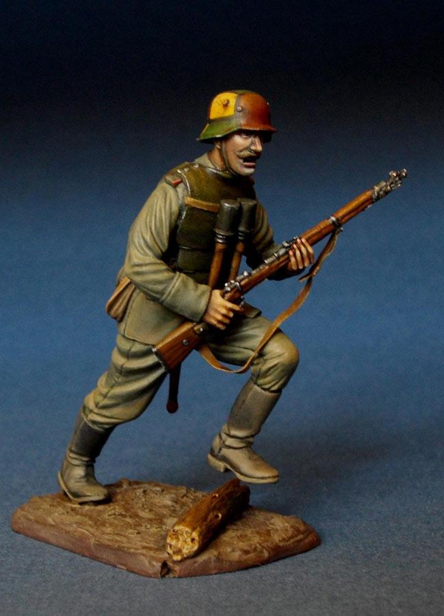 Фигурки: Немецкий штурмовик, 1МВ, фото #8