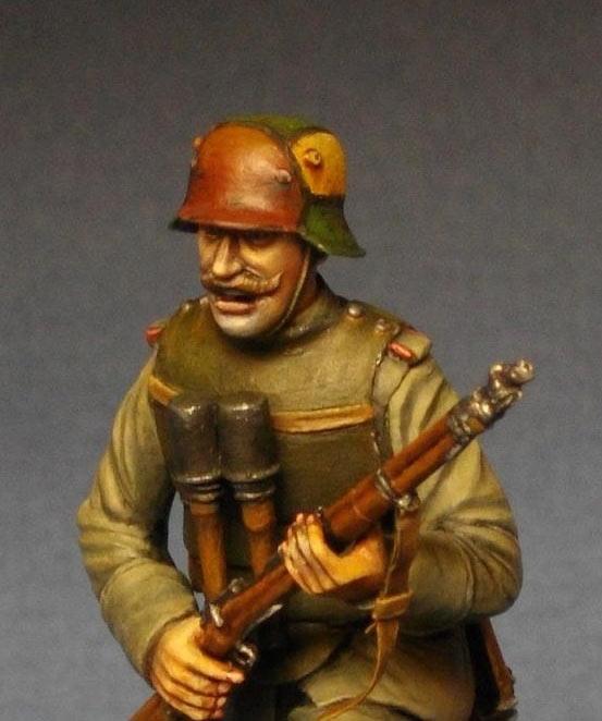 Фигурки: Немецкий штурмовик, 1МВ, фото #9
