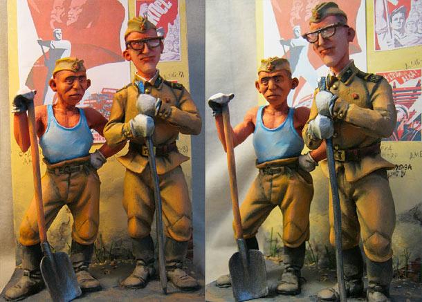 Разное: Два солдата из стройбата
