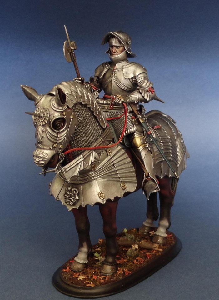 Фигурки: Готический рыцарь (Германия, 1480 г.), фото #2