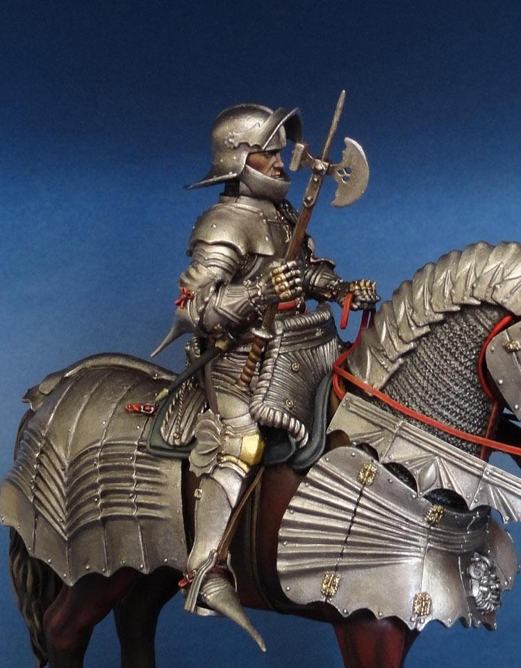 Фигурки: Готический рыцарь (Германия, 1480 г.), фото #9
