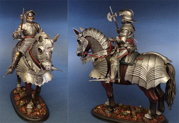 Фигурки: Готический рыцарь (Германия, 1480 г.)