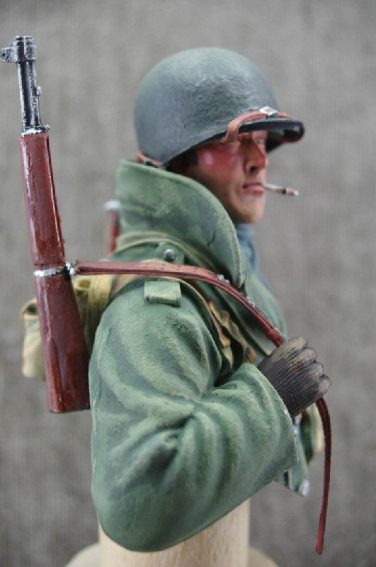 Фигурки: Пехотинец армии США, зима 1944-45, фото #5
