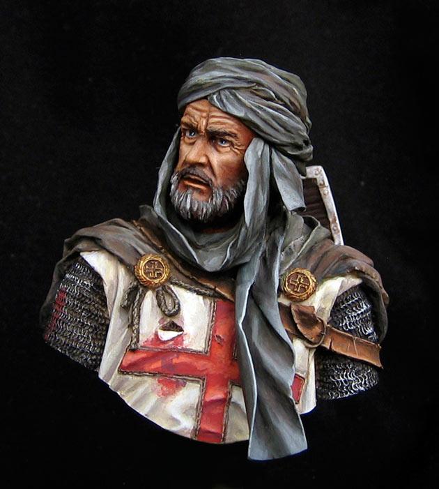 Фигурки: Рыцарь-тамплиер, Иерусалим., фото #1