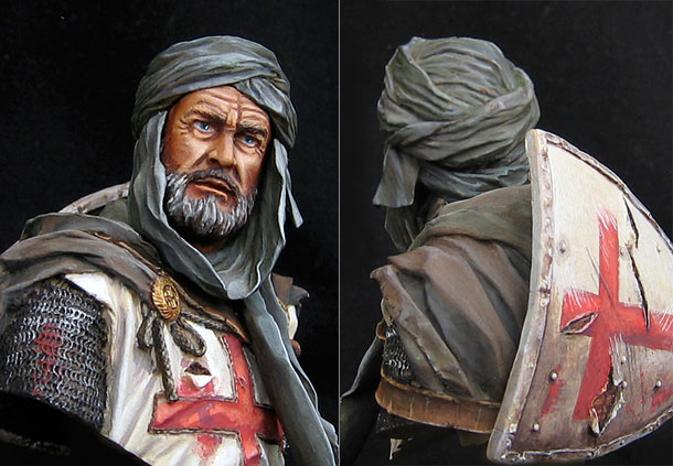 Фигурки: Рыцарь-тамплиер, Иерусалим.