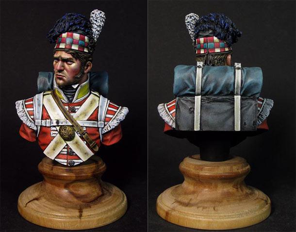 Фигурки: 92nd Gordon Highlanders, Ватерлоо, 1815