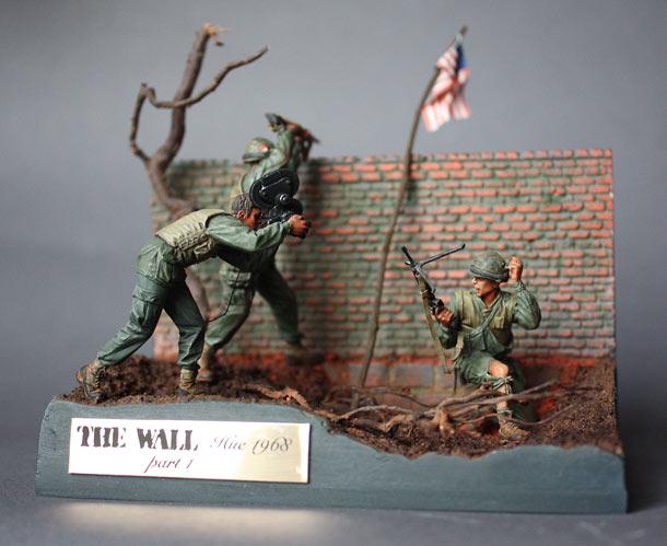 Диорамы и виньетки: Стена. Часть 1.