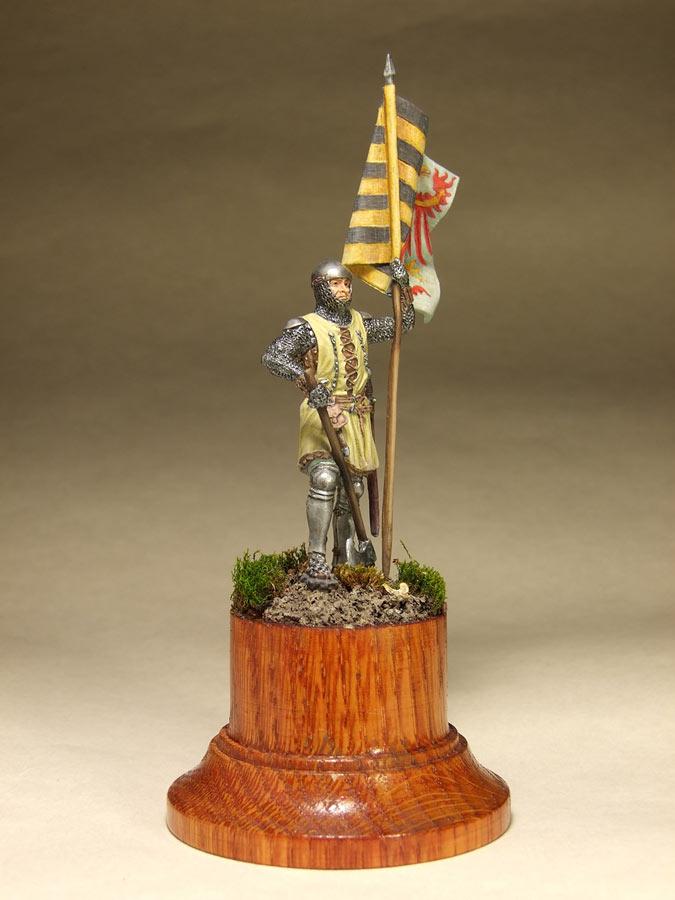 Фигурки: Саксонский знаменосец, сер. XIV в. , фото #2