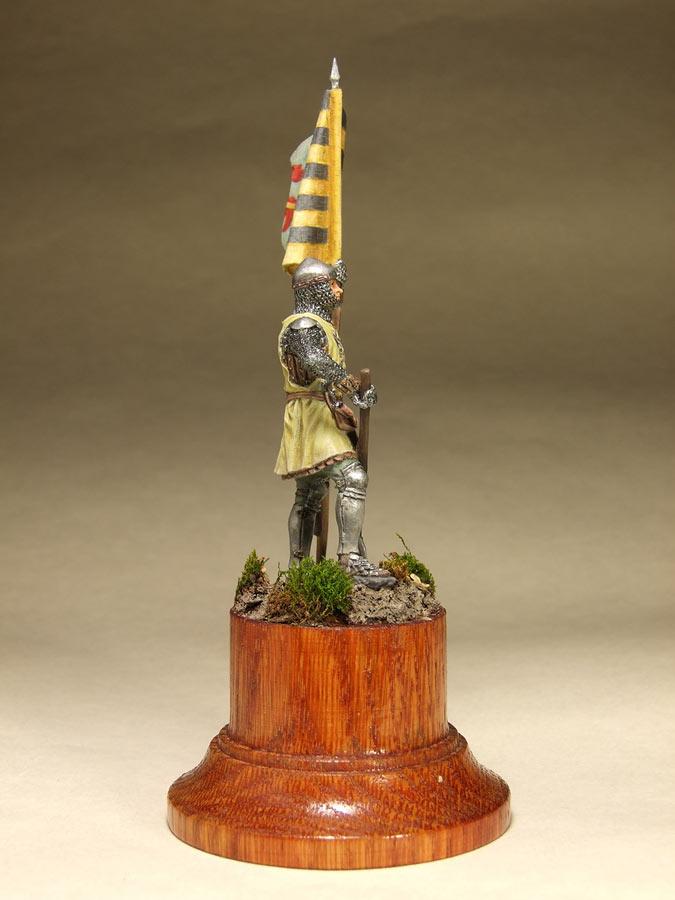 Фигурки: Саксонский знаменосец, сер. XIV в. , фото #3
