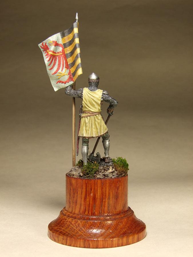 Фигурки: Саксонский знаменосец, сер. XIV в. , фото #5