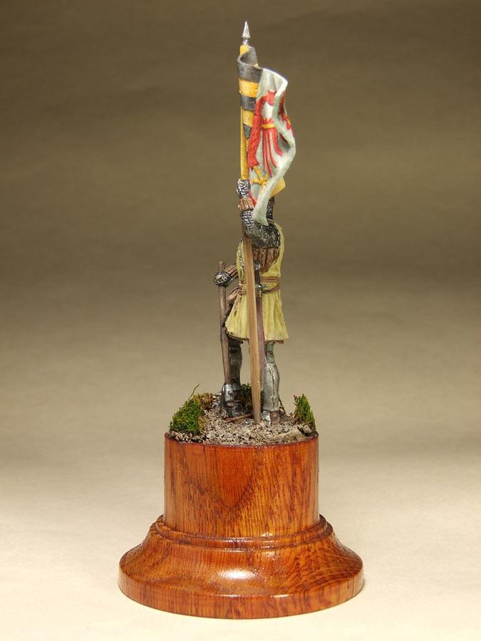 Фигурки: Саксонский знаменосец, сер. XIV в. , фото #7