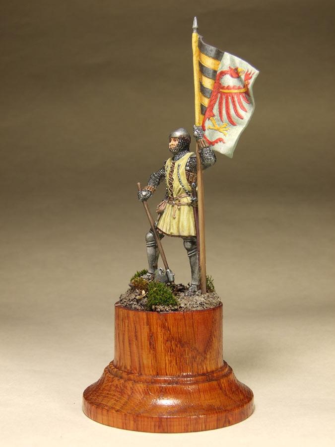 Фигурки: Саксонский знаменосец, сер. XIV в. , фото #8