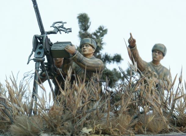 Диорамы и виньетки: Пулеметчики НОАК