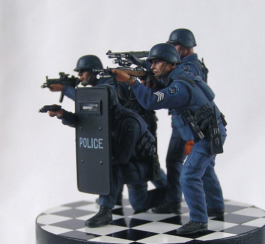 Диорамы и виньетки: NYPD ESU, рекламное фото, фото #4