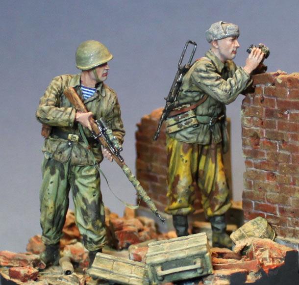Диорамы и виньетки: Охота началась. Сталинград, 1942 г.